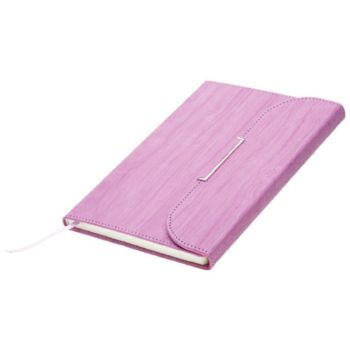 Personalised A5 Clutch Handbag Designed Notebook - Lilac